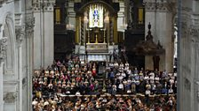 Berlioz's Grande messe des morts - rehearsal at St Paul's Cathedral