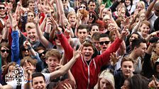 Audience at Hackney Weekend 2012