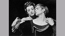 Monica Mason and Rudolf Nureyev