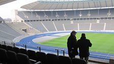 Inside the stadium - How Hitler would have seen the Olympic Games