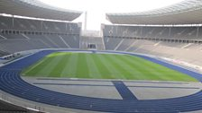 The running track where Jesse Owens won his three races
