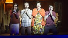 NI Opera: Doreen Curran, Paul Carey-Jones, Gemma Prince and Aaron O-Hare in May Contain Flash Photography