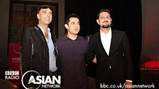 Raj&Pablo with Aamir Khan