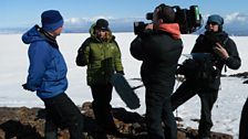 Kate and crew get to work on Katla volcano