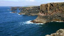 Cliffs at Eshaness, Shetland