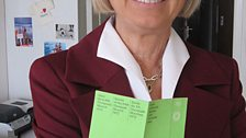 Brigitte Maibohm, who worked on the ticketing of the Games