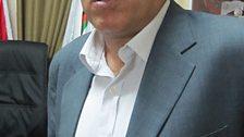 Djibril Rajoub, chairman of the Palestine Olympic Committee