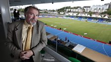 Scottish sports writer Doug Gillon, who covered his first Olympics at Munich