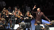 Hervé Niquet conducting at the BBC Proms 2012