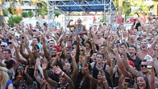 The Mallorca Rocks crowd