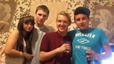 Joe and his mates