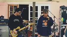 Blur performing at Peel Acres