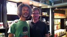Kevin Le Gendre with Jordi Pujol