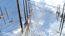 The Sails of the Cutty Sark