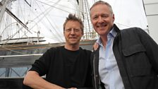 Simon with top impressionist Rory Bremner