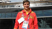 Look who it is? Spanish Olympian Danny Martin