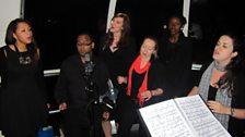 Arles Vocal Ensemble on London Eye