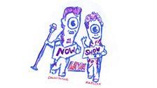 The Now Show mascots
