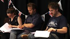 Margaret, John and Mitch