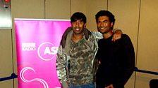 Nihal meets Sendhil Ramamurthy