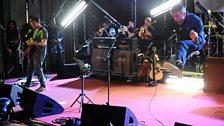 Blur performing Jubilee