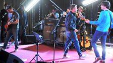 Blur reunited at Maida Vale