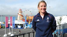 Simon was joined by British Sailor, Penny Clark, to talk us through the different Olympic events and classes in Weymouth