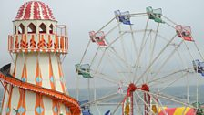 The fairground at Weymouth