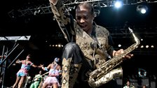 WOMAD 2012: Femi Kuti and the Positive Force