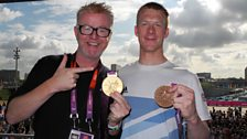 Chris with Ed Clancy