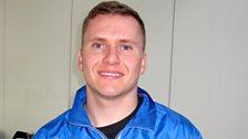 David Weir - elite wheelchair marathon athlete.