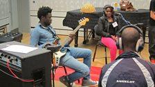Alioune Wade and Dandio Sidibe