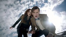 The Doctor and Amy Pond!