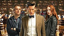 The Doctor, Amy and Rory…