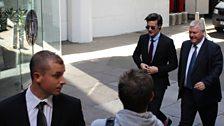 Matt Smith arrives!
