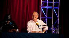 Hannibal Buress and Giles Brandreth