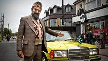 Mr Khan Shows off his Car