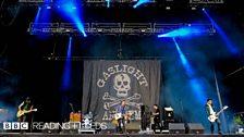 The Gaslight Anthem at Leeds Festival 2012
