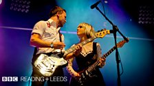 The Joy Formidable at Reading + Leeds 2012