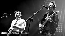 Two Door Cinema Club at Reading Festival 2012