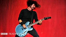 Foo Fighters at Reading Festival 2012