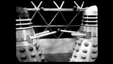 The Black Dalek and Omega