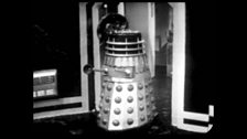 A Black Dalek is Destroyed