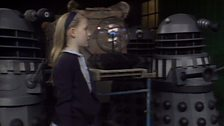 Daleks and Girl who Controlled the Dalek Computer