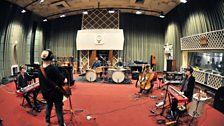 Ane Brun and Her Band in Session at Maida Vale