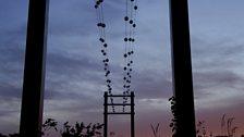 Bat Gantry at dusk