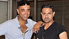 Raj and Pablo
