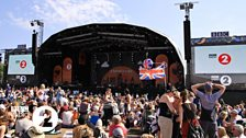Crowd at Radio 2 in Hyde Park