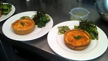 Bill King's Warm Smoked Salmon Quiche