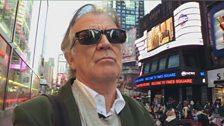 Gerry in Times Square NYC